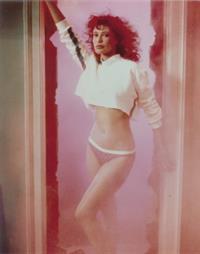 Kelly LeBrock in lingerie