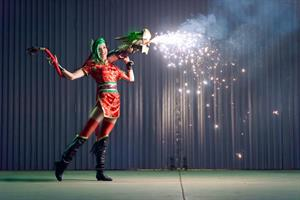 Lyz Brickley - Firecracker Jinx Cosplay