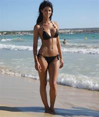 Micaela Schäfer in a bikini