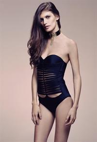 Caroline Francischini in a bikini