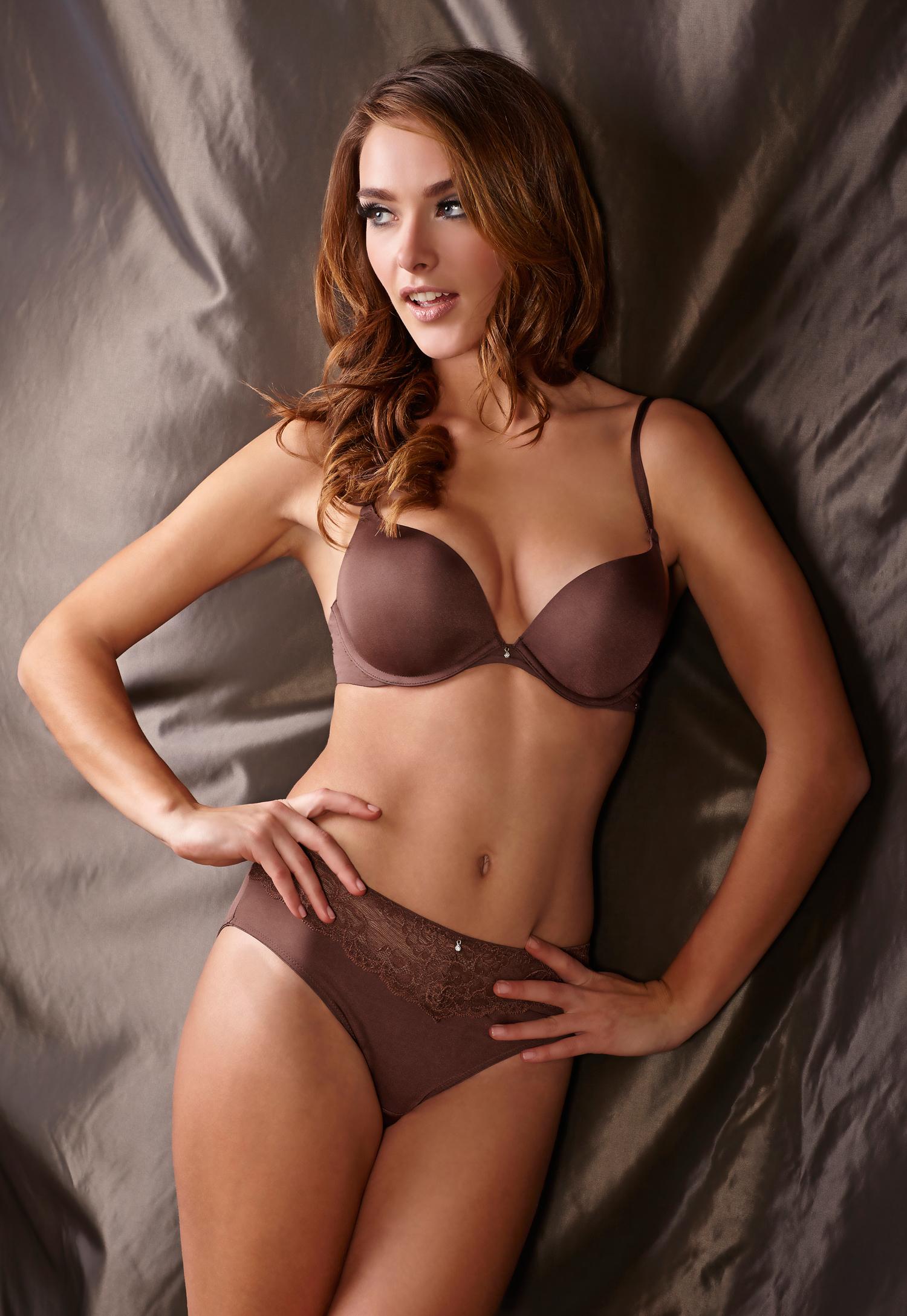 Charlie Dupont in lingerie