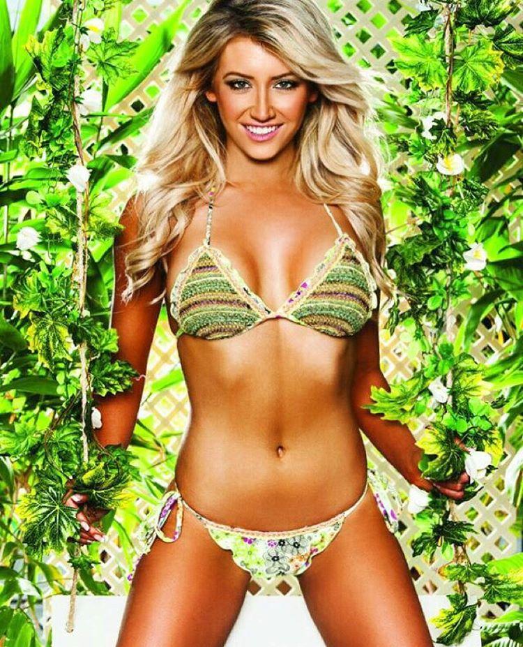 Elise Natalie Duncan in a bikini