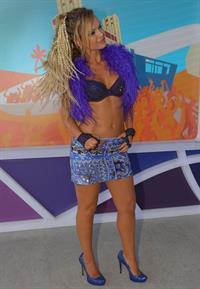 Eliana Michaelichen in a bikini