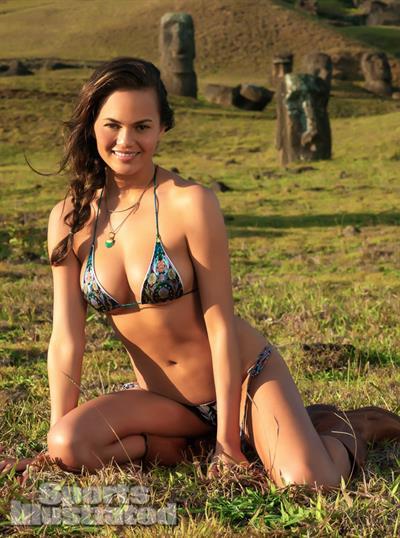 Chrissy Teigen in a bikini