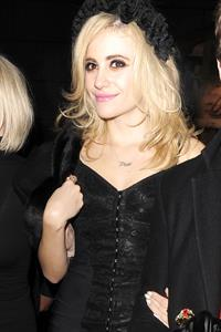 Pixie Lott leaving night club in London 11/30/12