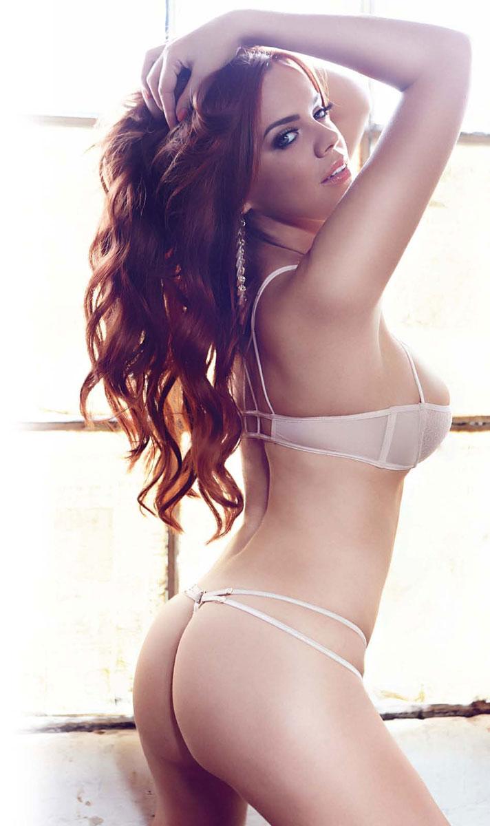 Maria Fowler in lingerie - ass
