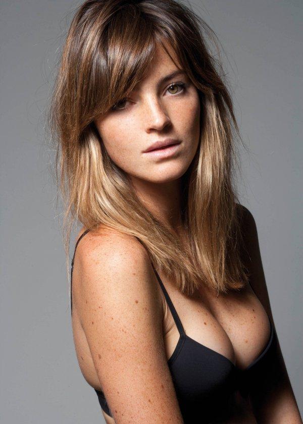 Aida Artiles in lingerie