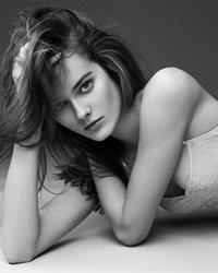 Monika Jagaciak in lingerie