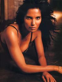 Padma Lakshmi in lingerie