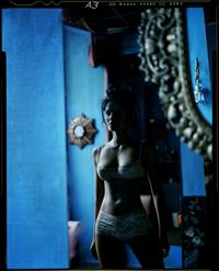 Padma Lakshmi in a bikini
