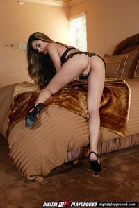 Michelle Maylene in lingerie