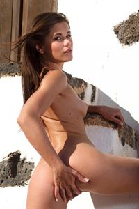 Little Caprice - pussy and nipples