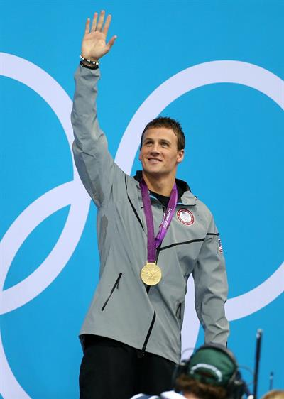 American Olympic Swimmer Ryan Lochte