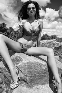 Katya Sidorenko in a bikini