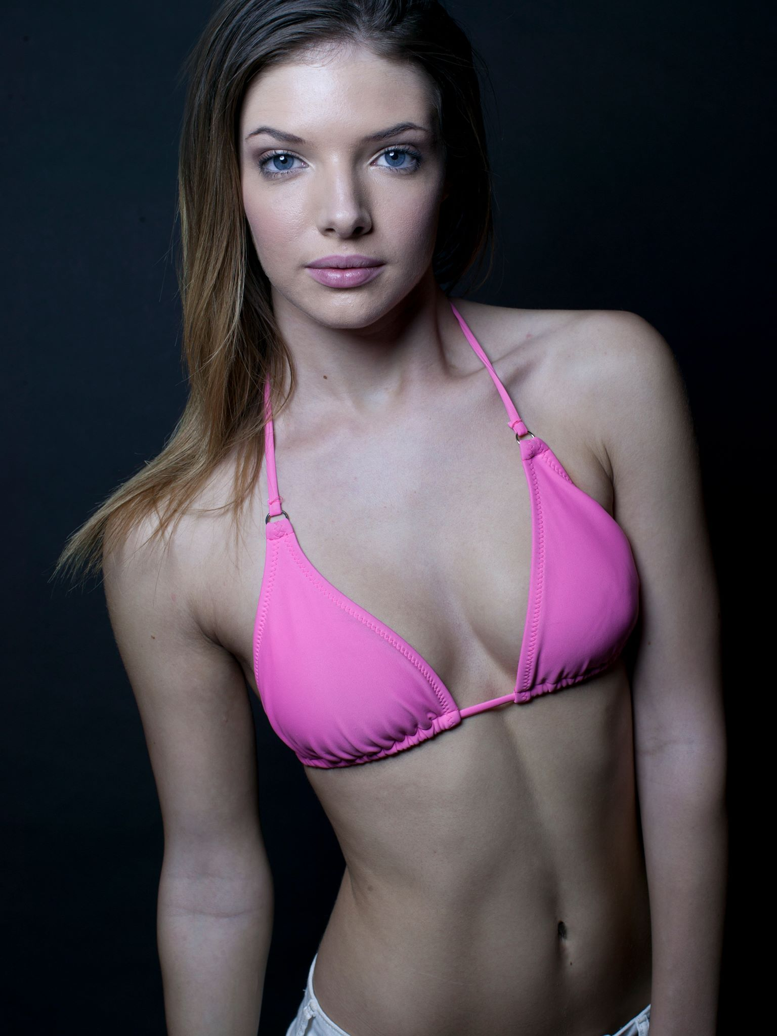 Ariel Eve Thompson in a bikini