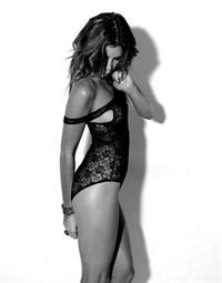 Summer Crosley in lingerie