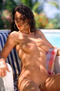 Alicia Burley - breasts
