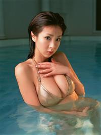 Aki Hoshino in a bikini
