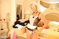 Ann Angel in lingerie