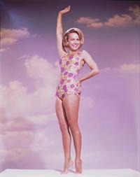 Terry Moore in a bikini