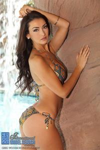 Jennifer Lynn Decillis in a bikini - ass