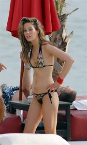 Roxanne McKee in a bikini