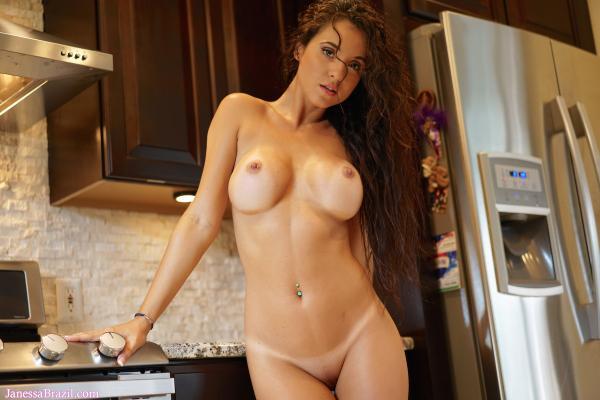 Janessa Brazil - breasts
