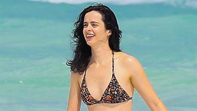 Krysten Ritter in a bikini