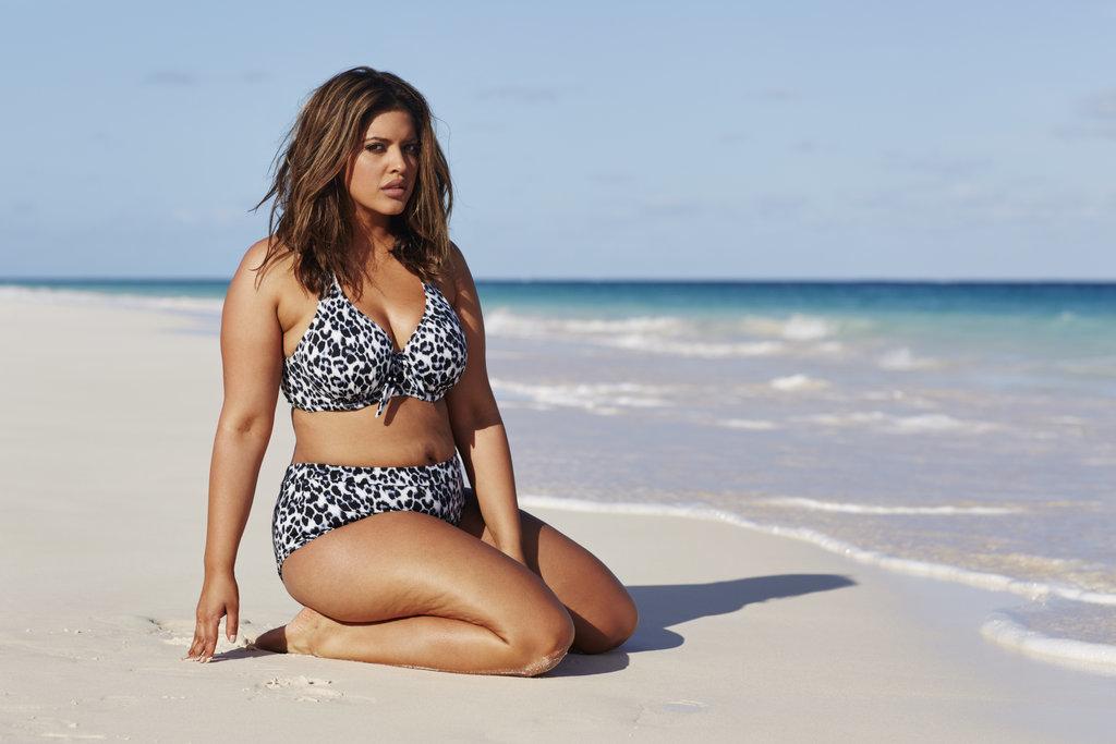 Denise Bidot in a bikini