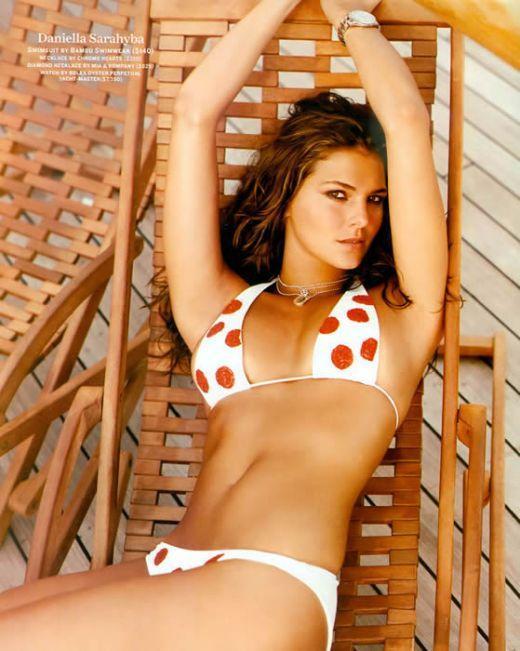 Daniella Sarahyba in a bikini