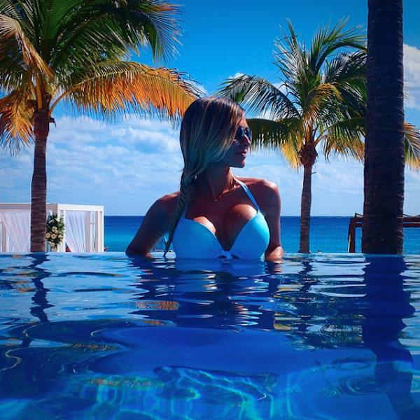 Helena C in a bikini