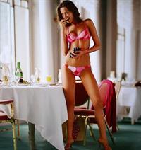 Petra Němcová in lingerie