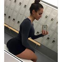 Caroline Sunshineee taking a selfie