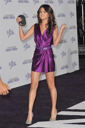 Selena Gomez - Justin Bieber Never Say Never Los Angeles Premiere