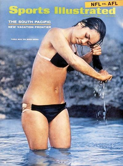 1968 Sports Illustrated Swimsuit Edition Cover