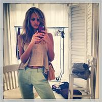 Marloes Horst taking a selfie