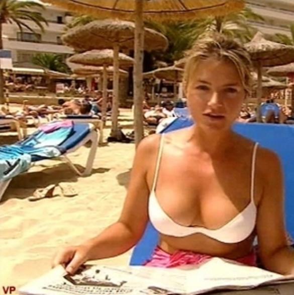 Ruth England in a bikini