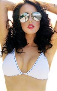 Katie Anderson in a bikini