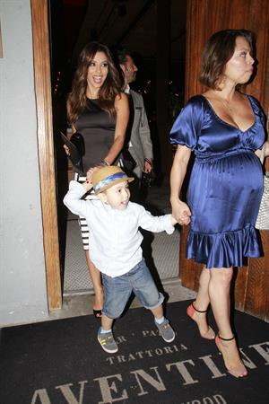 Eva Longoria out for dinner in Los Angeles June 12, 2014
