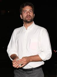 Diane Kruger and Joshua Jackson leaving Giorgio Baldi June 11, 2014