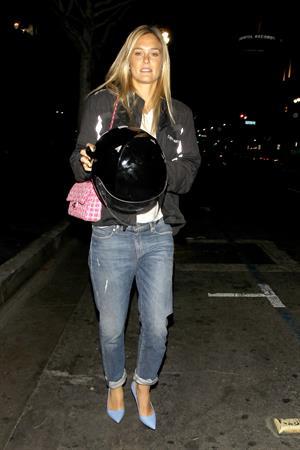 Bar Rafaeli grabbed some sushi at Katsuya restaurant in Hollywood, June 9, 2014