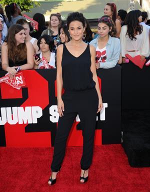 Emmanuelle Chriqui at 22 Jump Street Premiere in Westwood June 10, 2014