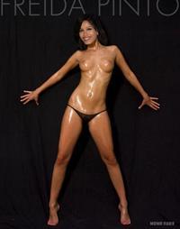 Freida Pinto - breasts