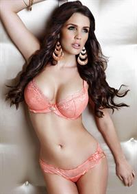 Danielle Lloyd in lingerie