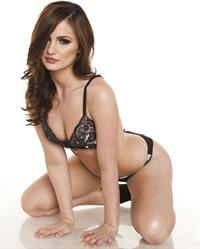 Lily Carter in lingerie