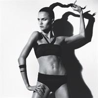 Barbara Fialho in a bikini