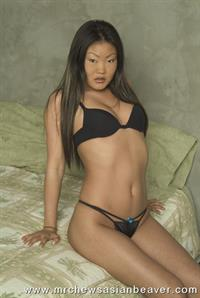 Lucy Lee in lingerie