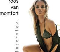 Roos Van Montfort in a bikini