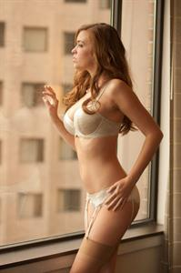 Jess Robinson in lingerie