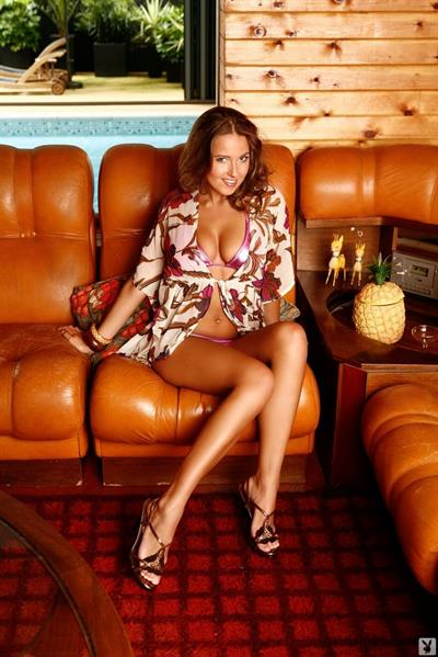 Sammie Pennington in a bikini